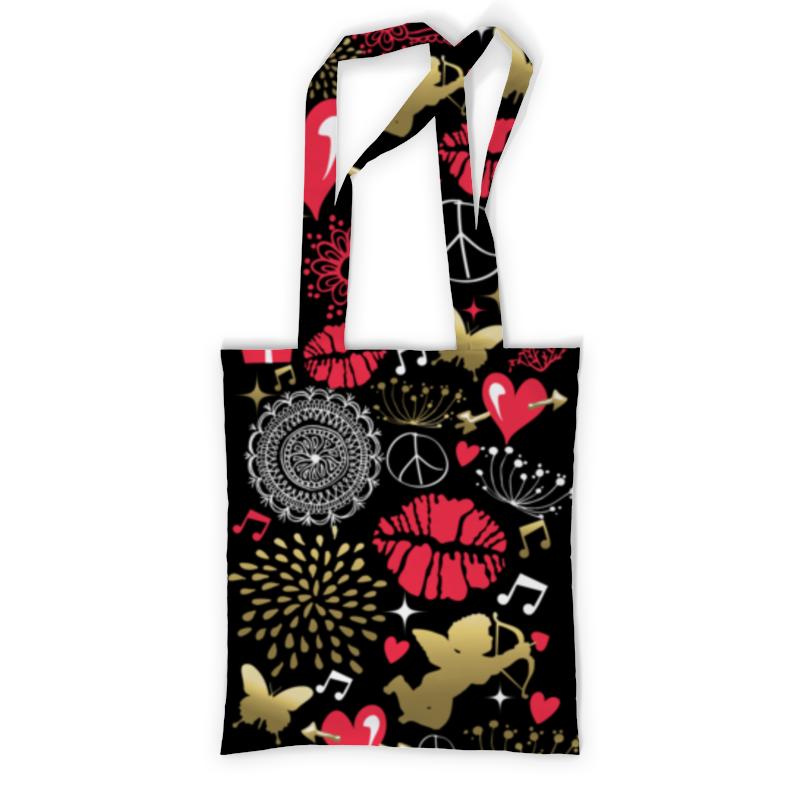 Printio Сумка с полной запечаткой Валентинка printio сумка с абстрактным рисунком