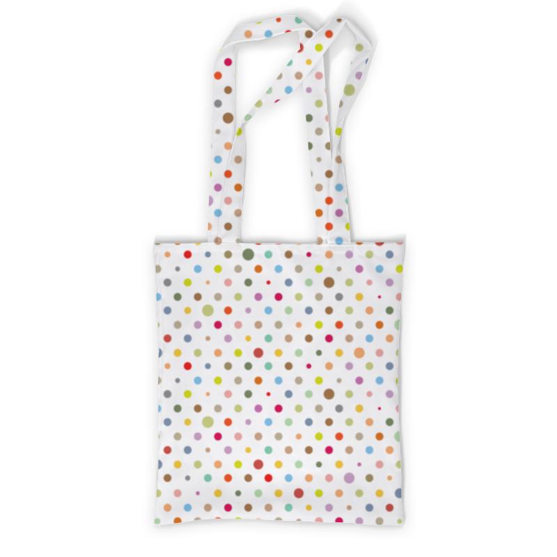 Printio Сумка с полной запечаткой Горошек printio сумка с абстрактным рисунком