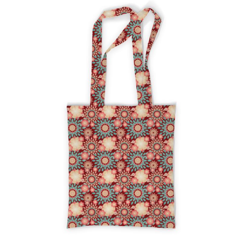 Printio Сумка с полной запечаткой Цветочная printio сумка с абстрактным рисунком