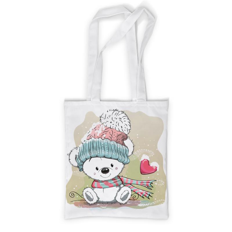 Printio Сумка с полной запечаткой Медвежонок printio сумка с абстрактным рисунком