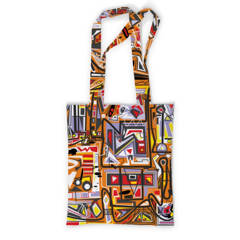 Printio Сумка с полной запечаткой Оранжевый дом. printio сумка с абстрактным рисунком
