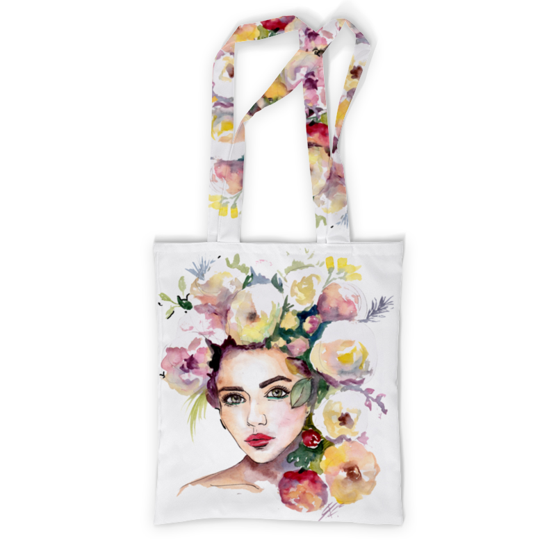 Printio Сумка с полной запечаткой A flower cannot blossom without sunshine printio сумка с абстрактным рисунком