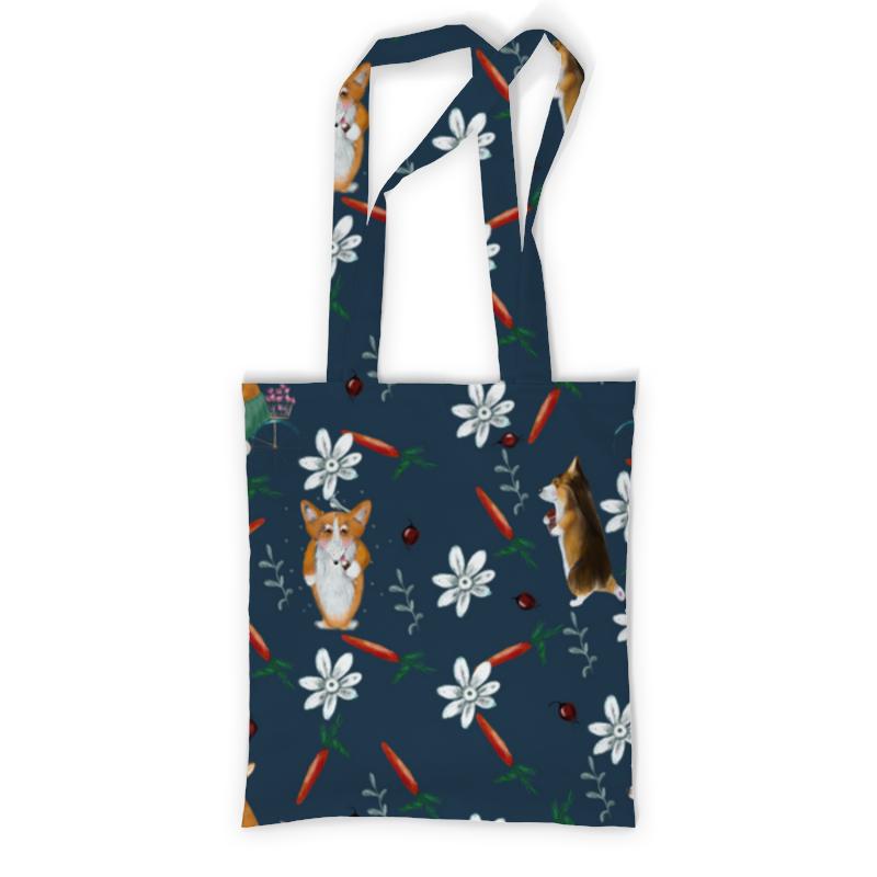 Printio Сумка с полной запечаткой Летний корги printio сумка с абстрактным рисунком