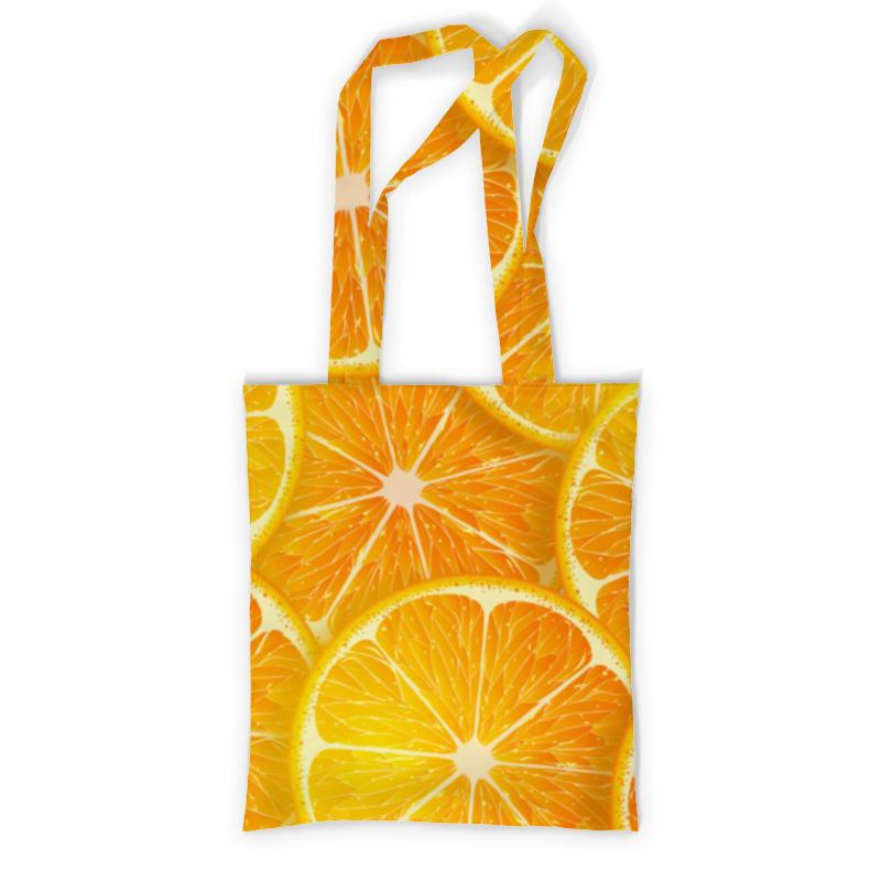 Printio Сумка с полной запечаткой Апельсины printio сумка с абстрактным рисунком