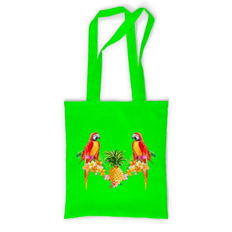 Фото - Printio Сумка с полной запечаткой Попугаи printio сумка с полной запечаткой кружево