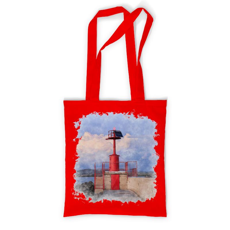 Printio Сумка с полной запечаткой Итальянский маяк printio сумка с абстрактным рисунком