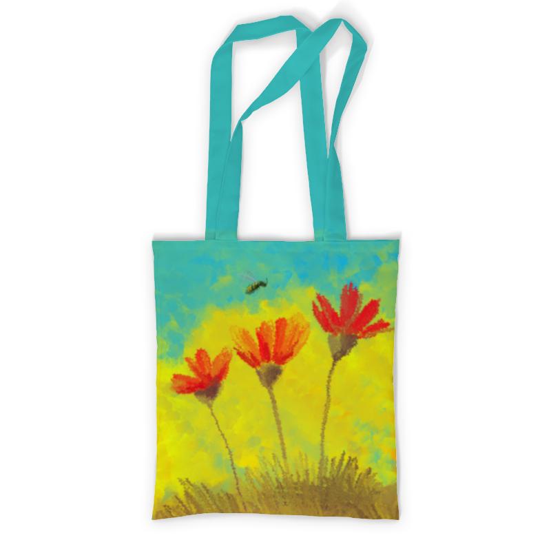 Printio Сумка с полной запечаткой Пчела в маках - масло printio сумка с абстрактным рисунком