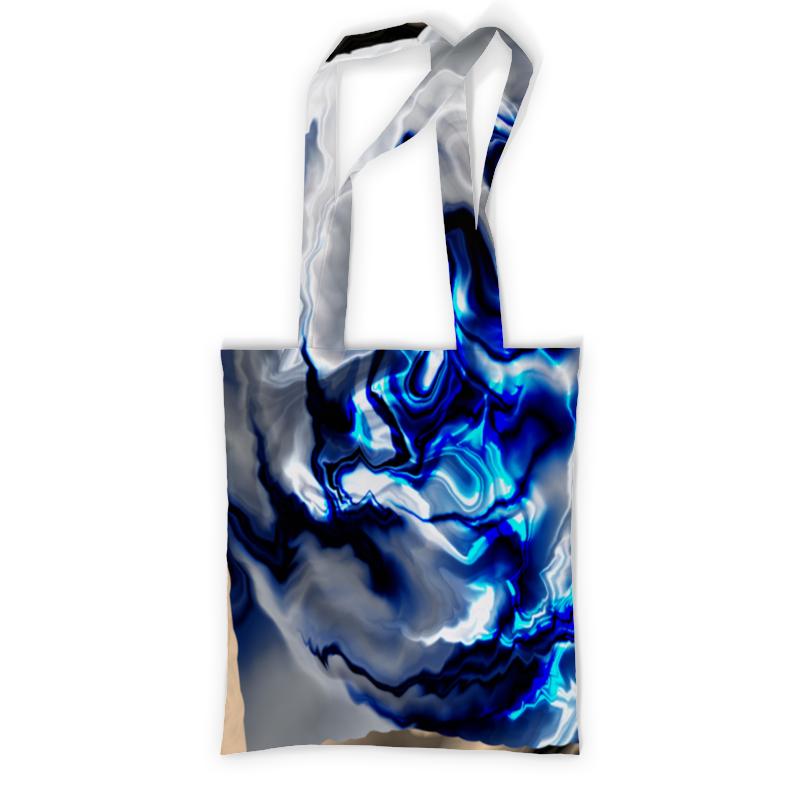 Printio Сумка с полной запечаткой Зимняя абстракция printio сумка с абстрактным рисунком