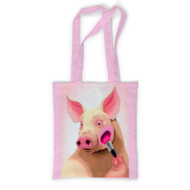 Printio Сумка с полной запечаткой Стильная свинья printio сумка с абстрактным рисунком
