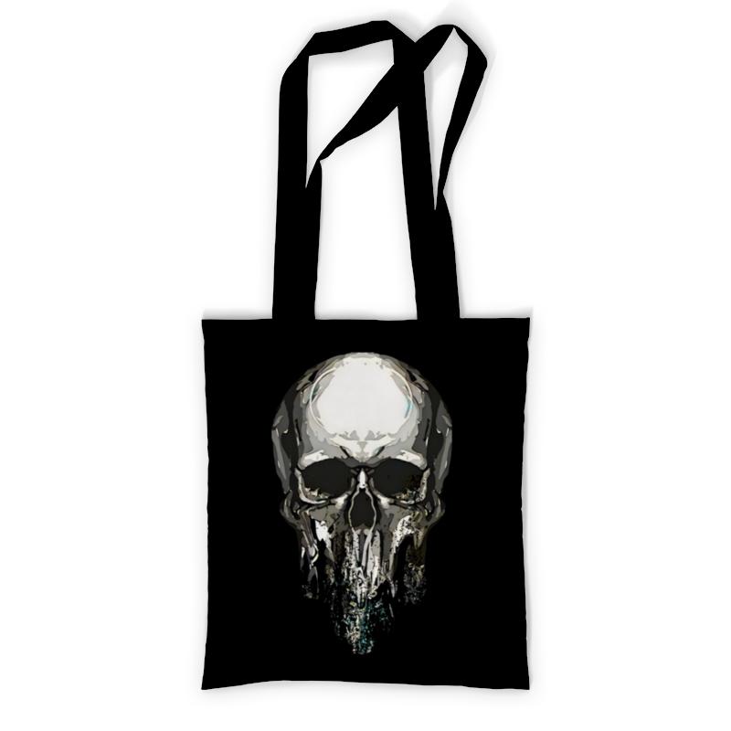 Printio Сумка с полной запечаткой тающий череп printio сумка с абстрактным рисунком