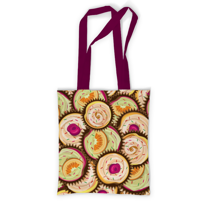 Printio Сумка с полной запечаткой Печенюшки printio сумка с абстрактным рисунком
