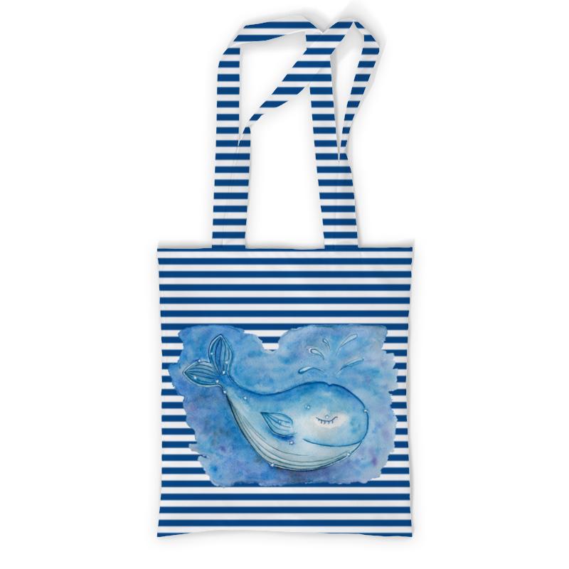Printio Сумка с полной запечаткой Спящий кит printio сумка с абстрактным рисунком