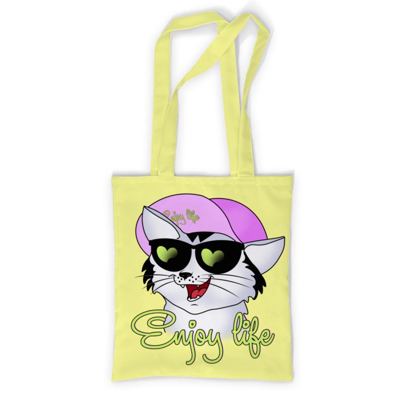 Printio Сумка с полной запечаткой Enjoy life printio сумка с абстрактным рисунком