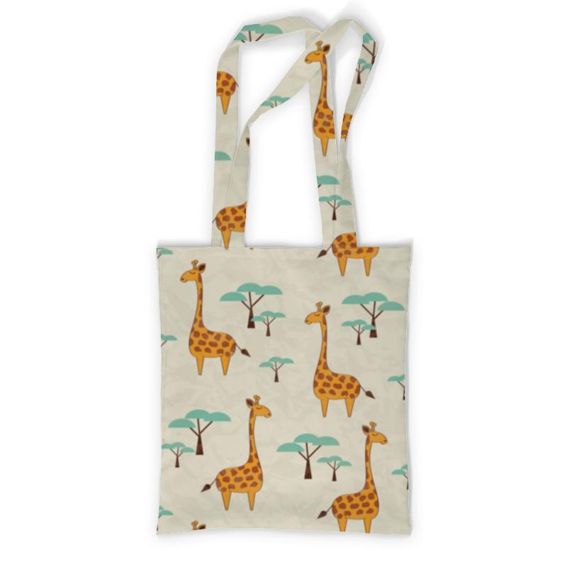 Printio Сумка с полной запечаткой Жирафы printio сумка с абстрактным рисунком