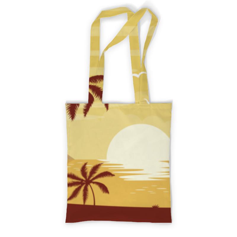 Printio Сумка с полной запечаткой Закат printio сумка с абстрактным рисунком