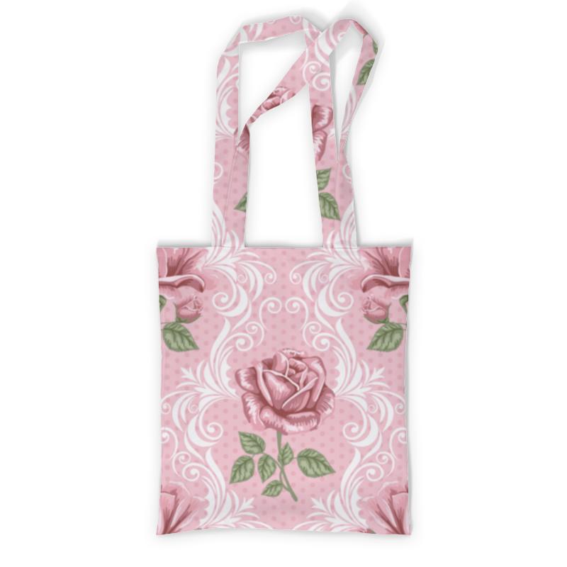 Printio Сумка с полной запечаткой Розочки printio сумка с абстрактным рисунком