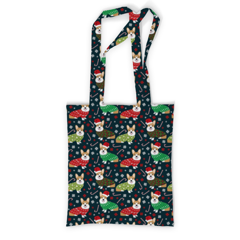 Printio Сумка с полной запечаткой Корги printio сумка с абстрактным рисунком
