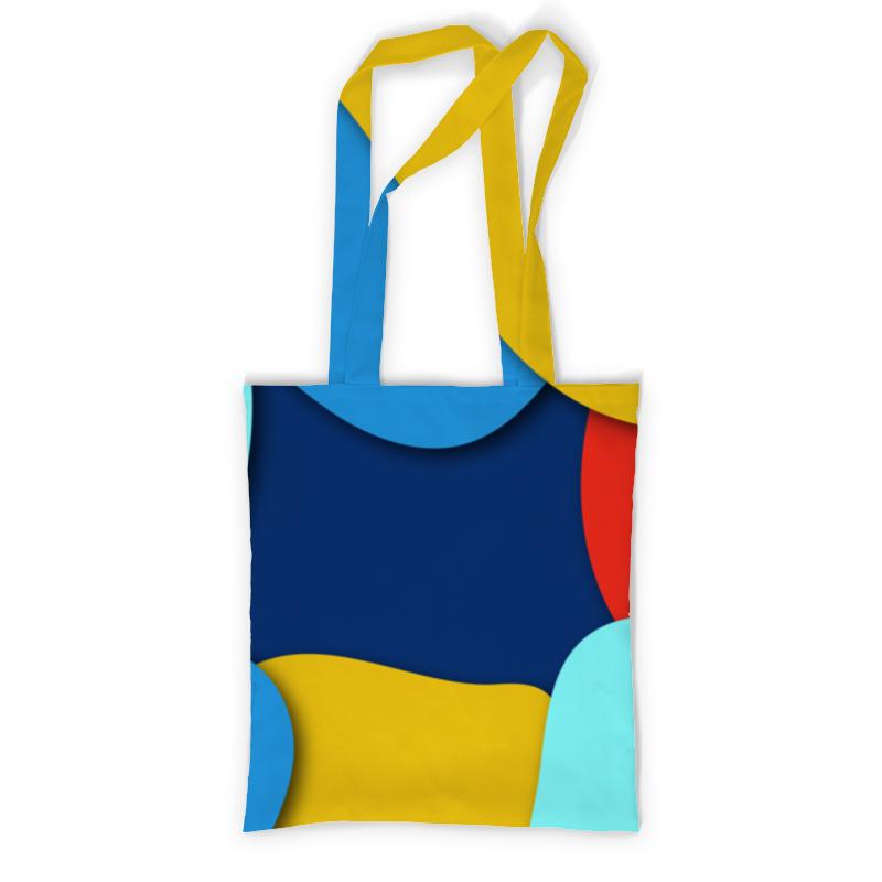 Printio Сумка с полной запечаткой Разноцветная абстракция printio сумка с абстрактным рисунком
