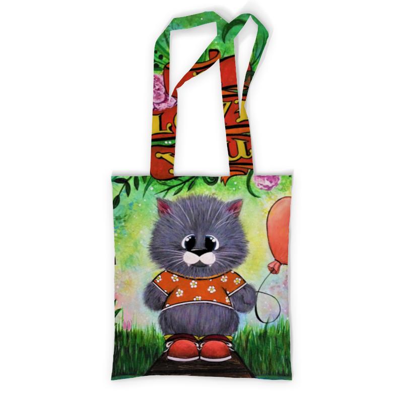 Printio Сумка с полной запечаткой Слоник printio сумка с абстрактным рисунком