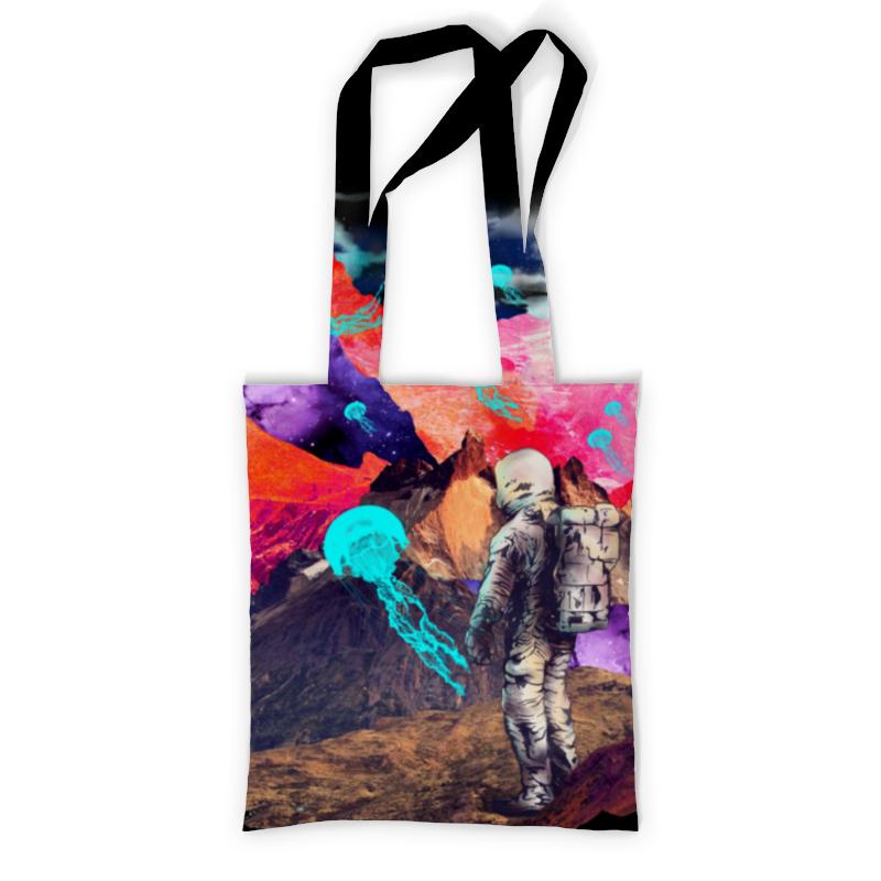 Printio Сумка с полной запечаткой Фантастический ландшафт printio сумка с абстрактным рисунком