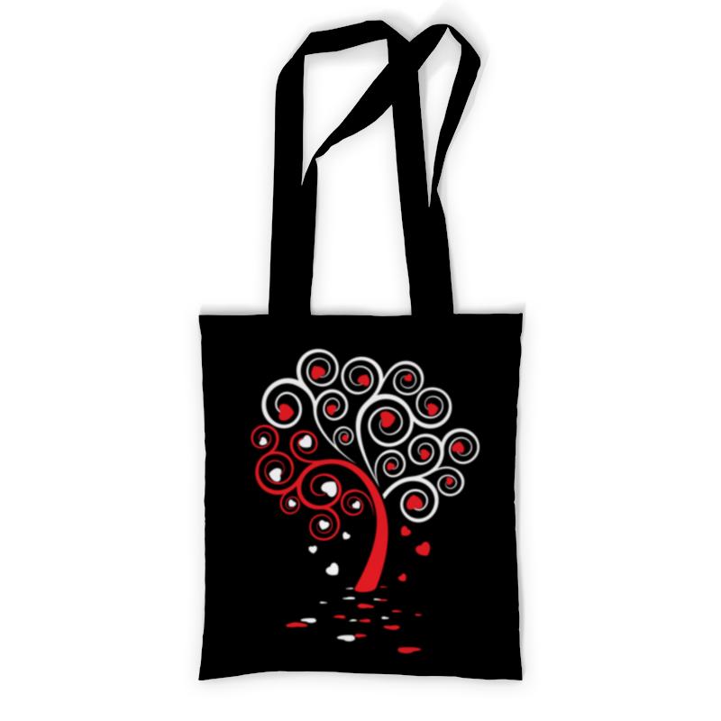 Printio Сумка с полной запечаткой Древо любви printio сумка с абстрактным рисунком