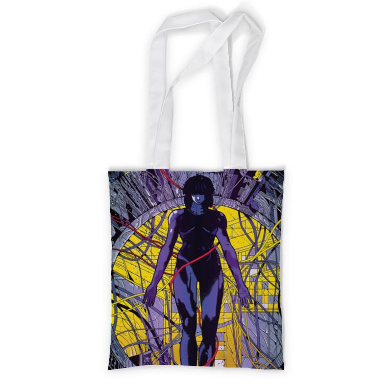Printio Сумка с полной запечаткой Призрак в доспехах (мотоко) printio сумка с абстрактным рисунком