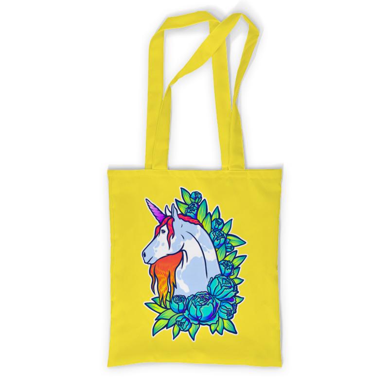Printio Сумка с полной запечаткой Единорог printio сумка с абстрактным рисунком
