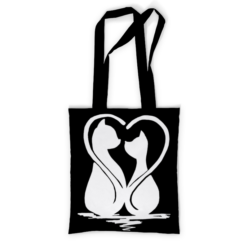 printio сумка с полной запечаткой влюбленные фламинго Printio Сумка с полной запечаткой Влюбленные коты