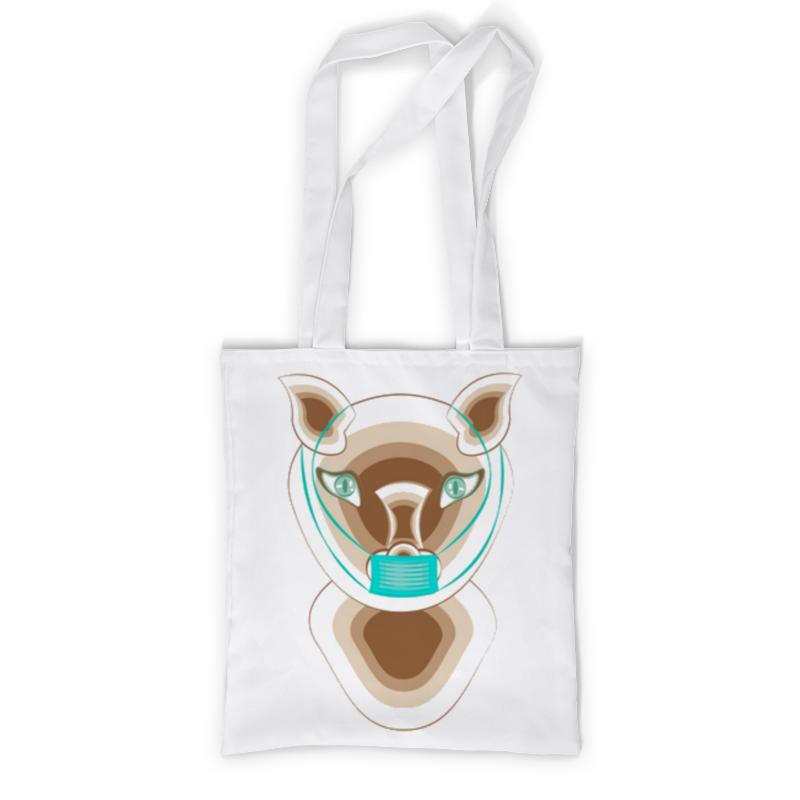 Printio Сумка с полной запечаткой Кошка в маске printio сумка с полной запечаткой кошка