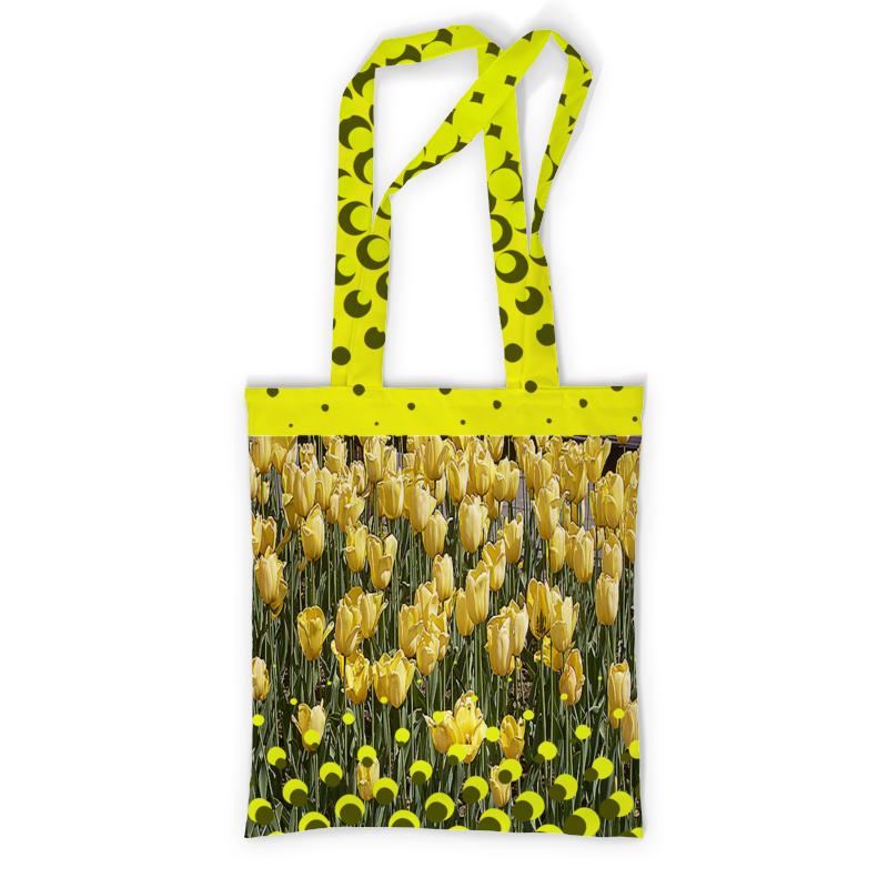 Printio Сумка с полной запечаткой Солнечный тюльпан. printio сумка с абстрактным рисунком
