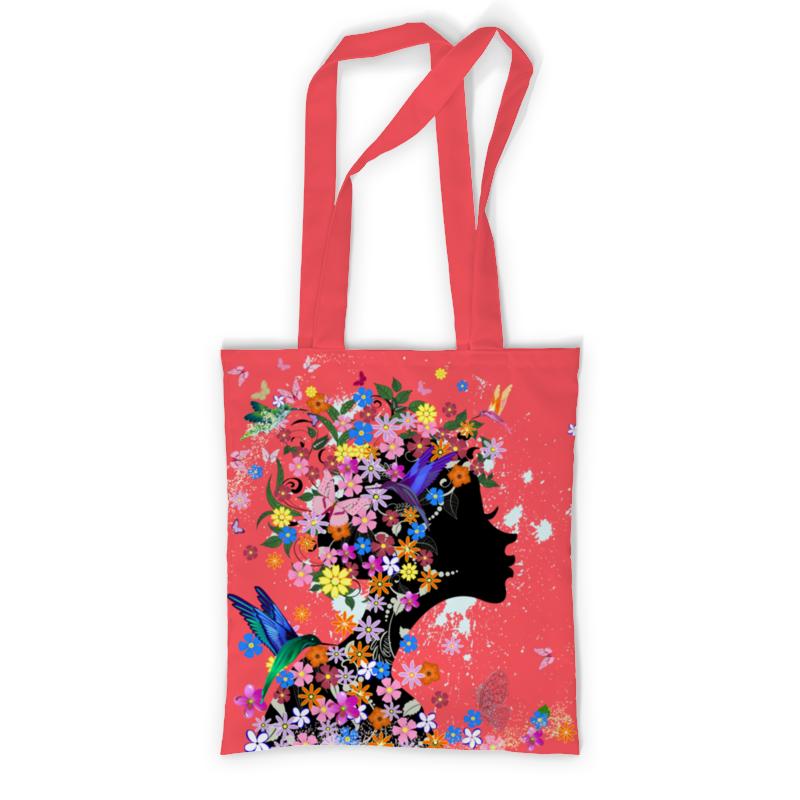 Printio Сумка с полной запечаткой Девушка printio сумка с абстрактным рисунком
