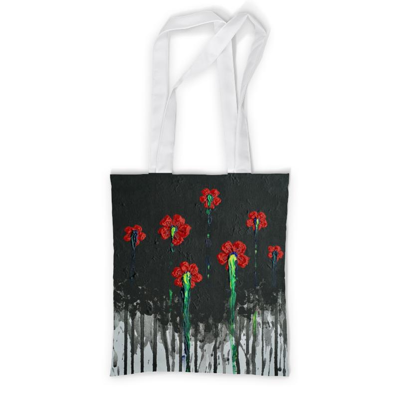 Printio Сумка с полной запечаткой Красные маки printio сумка с абстрактным рисунком