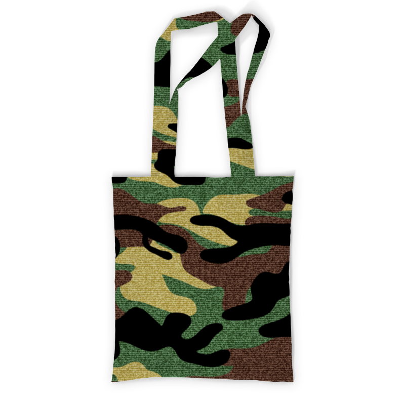 Printio Сумка с полной запечаткой Камуфляж printio сумка с абстрактным рисунком