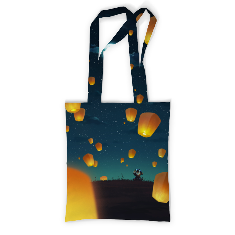 Printio Сумка с полной запечаткой Фонарики printio сумка с абстрактным рисунком