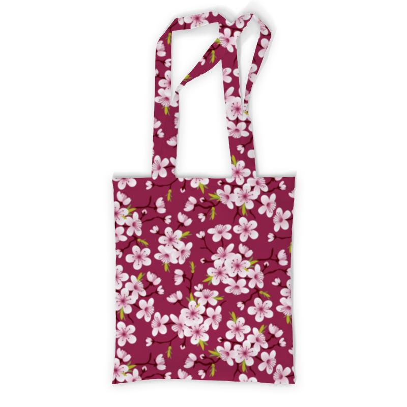 Printio Сумка с полной запечаткой Цветущая вишня printio сумка с абстрактным рисунком