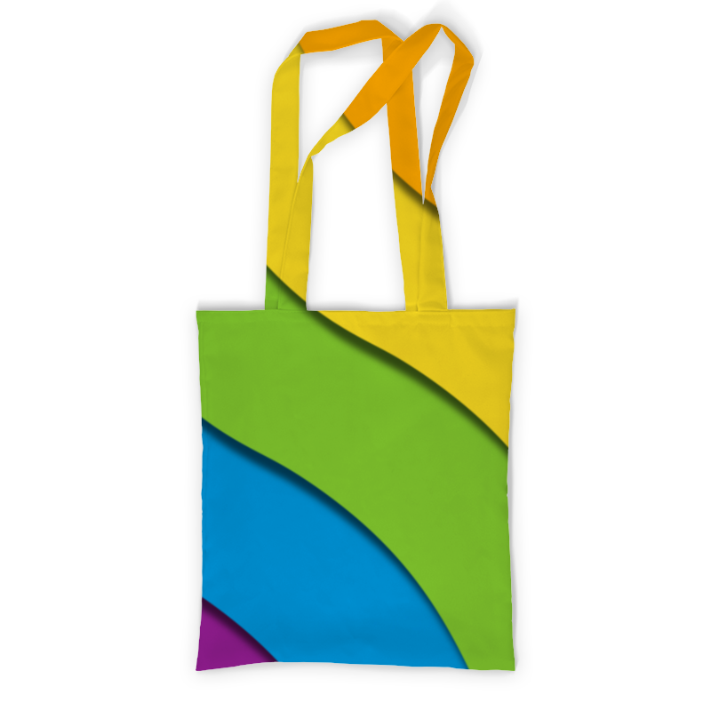 Printio Сумка с полной запечаткой Радуга printio сумка с абстрактным рисунком