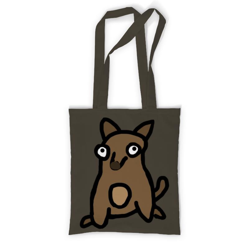 Printio Сумка с полной запечаткой Собачка printio сумка с абстрактным рисунком