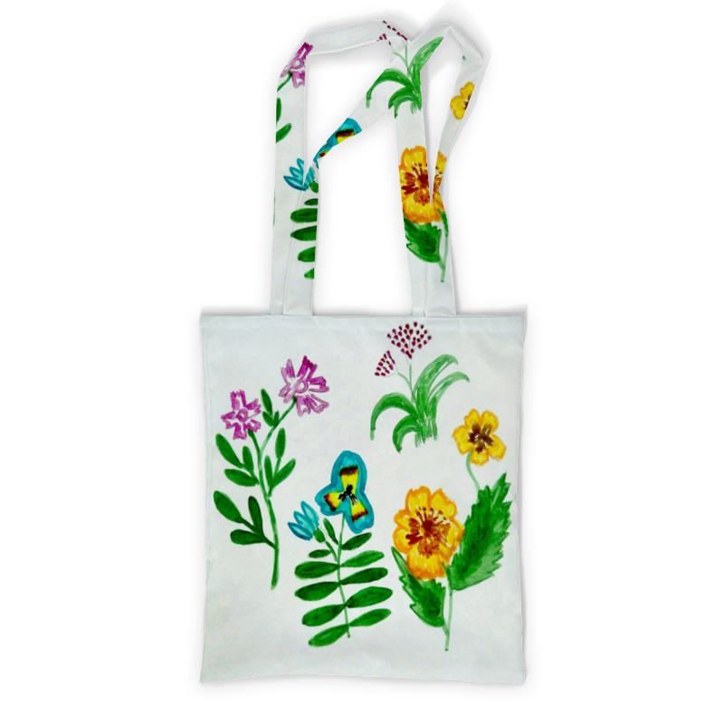 Printio Сумка с полной запечаткой Полевые цветы