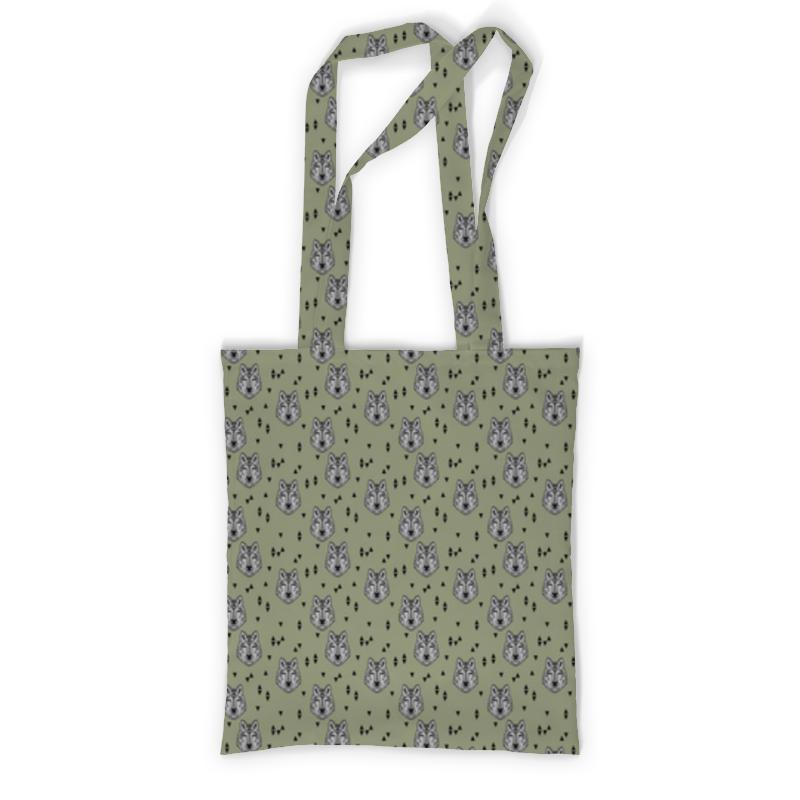 Printio Сумка с полной запечаткой Волки printio сумка с абстрактным рисунком