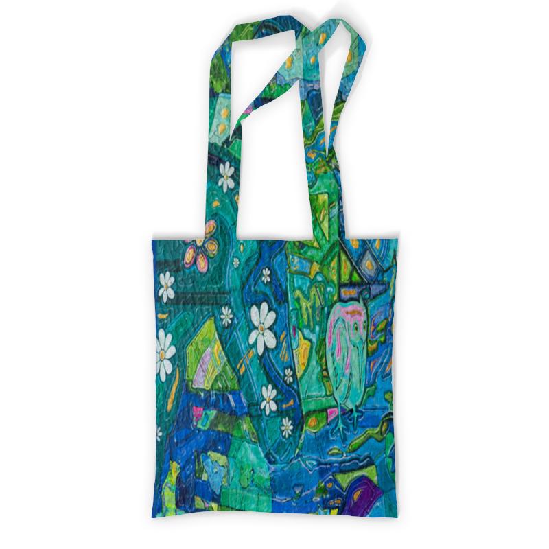 Printio Сумка с полной запечаткой Птичка printio сумка с абстрактным рисунком