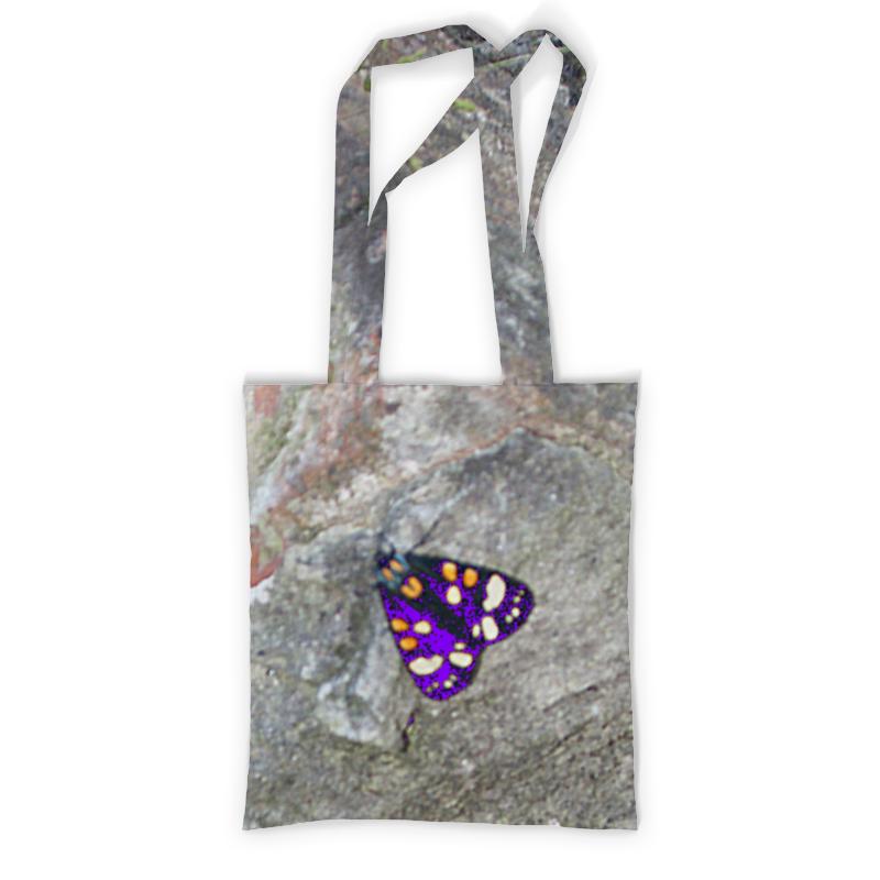 Printio Сумка с полной запечаткой Мотылек. printio сумка с абстрактным рисунком