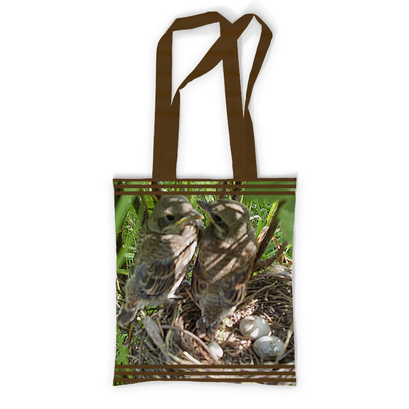 Printio Сумка с полной запечаткой Семья. printio сумка с абстрактным рисунком