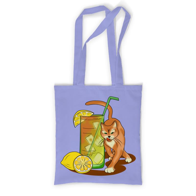 Printio Сумка с полной запечаткой Коктейльный котик printio сумка с абстрактным рисунком
