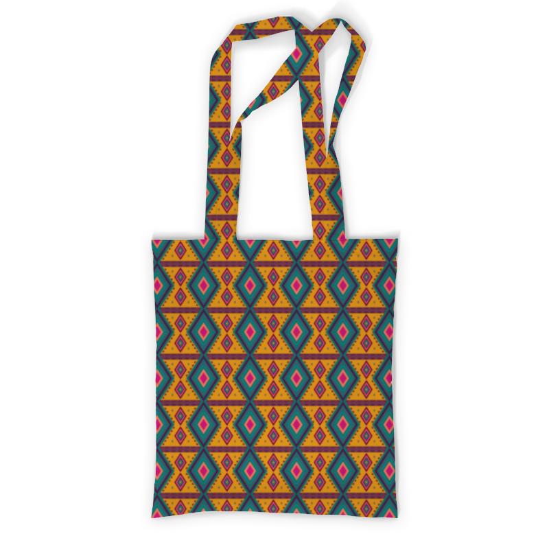 Printio Сумка с полной запечаткой Геометрический узор printio сумка с абстрактным рисунком