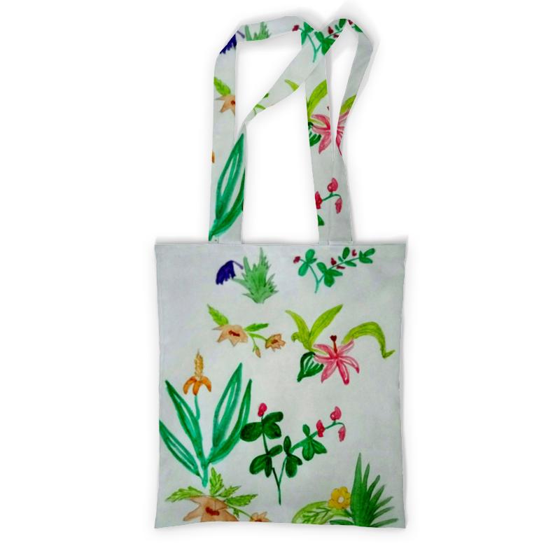 Printio Сумка с полной запечаткой Ботаника printio сумка с абстрактным рисунком