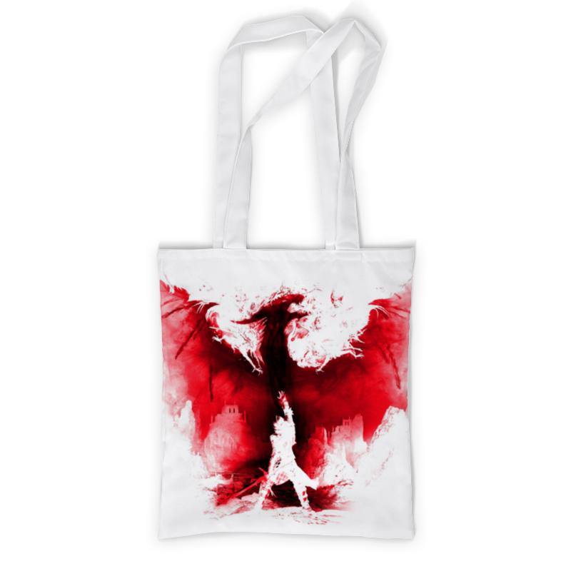 Printio Сумка с полной запечаткой Dragon age printio сумка с абстрактным рисунком