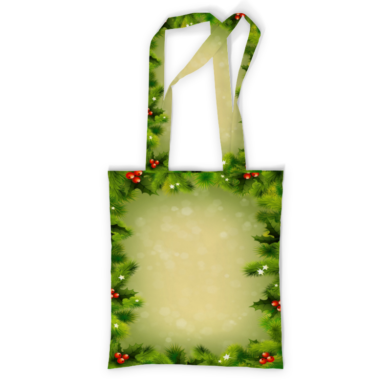 Printio Сумка с полной запечаткой Для новогодних подарков printio сумка с абстрактным рисунком