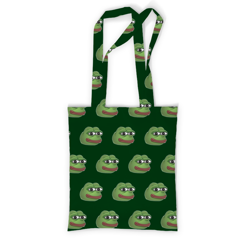 Фото - Printio Сумка с полной запечаткой Pepe frog - лягушонок пепе printio сумка pepe the frog whant some love