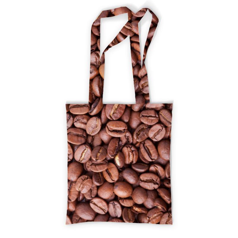 Printio Сумка с полной запечаткой Зерна кофе printio сумка с абстрактным рисунком