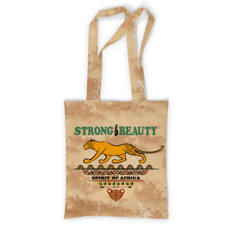 Printio Сумка с полной запечаткой Strong & beauty printio сумка с абстрактным рисунком